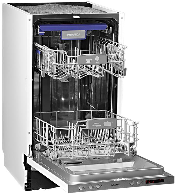 Обзор посудомоечной машины Pyramida DP 10 Premium - DP 10 Premium в открытом виде