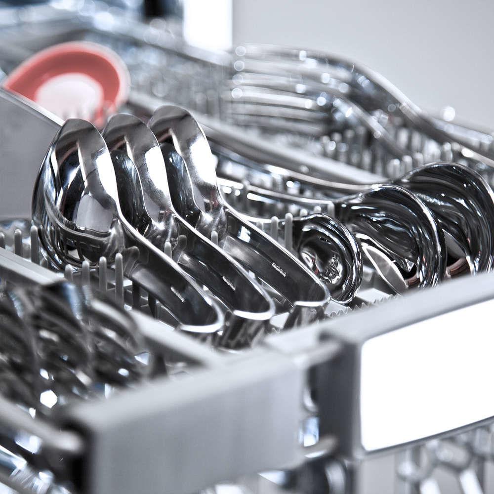 Обзор посудомоечной машины Pyramida DP 10 Premium - загрузка третьей платформы