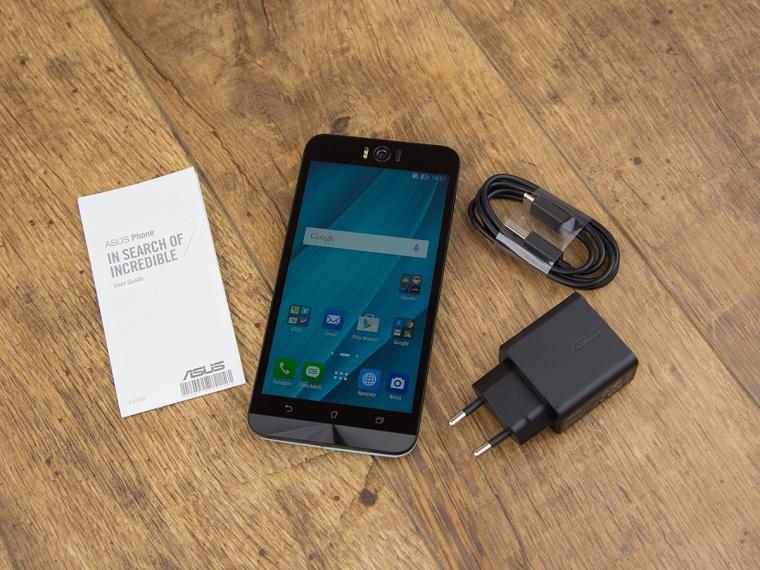 Папка «Фото», ASUS ZenFone Selfie (ZD551KL)-Комплект поставки
