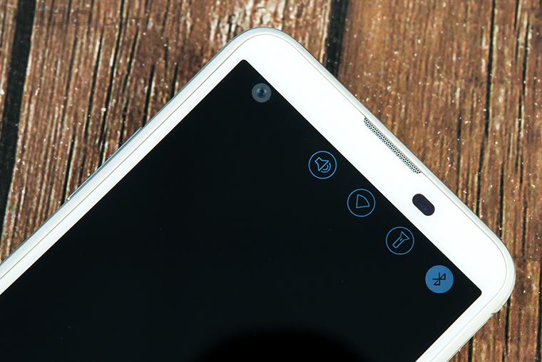 Папка «Фото», LG X View-Дополнительный экран и Фронтальная камера