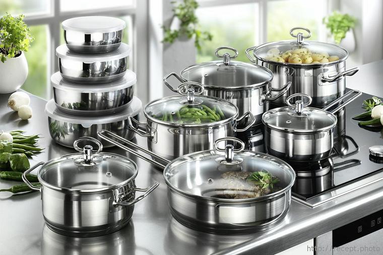 Папка «Фото», Обзор посуды_кастрюли – посуда из нержавеющей стали