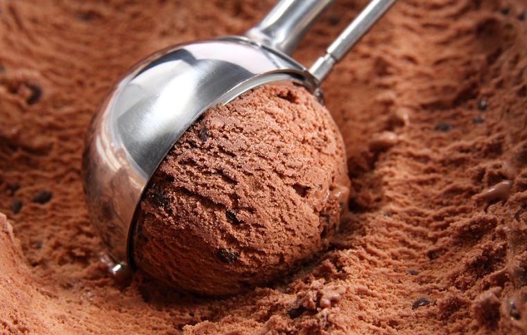 Папка «Фотографии», фото Мороженое с горьким шоколадом-десерт