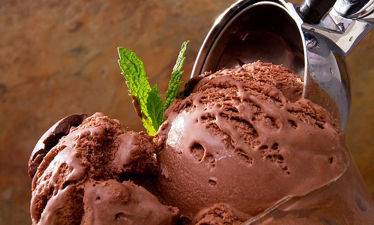 Папка «Фотографии», фото Шоколадно-зефирное мороженое-фото