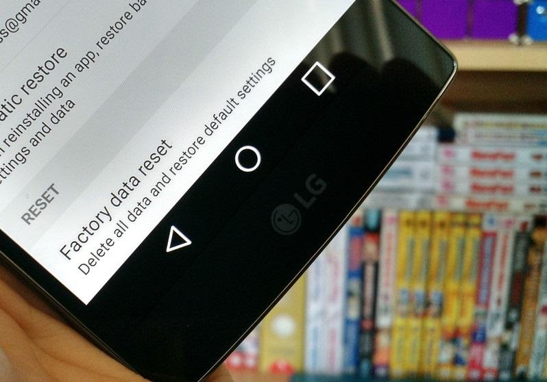 Подготавливаем к продаже смартфон или планшет на ОС Android - заводские настройки