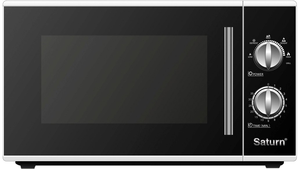 Разбираемся в брендах_микроволновые печи - микроволновка saturn с механикой