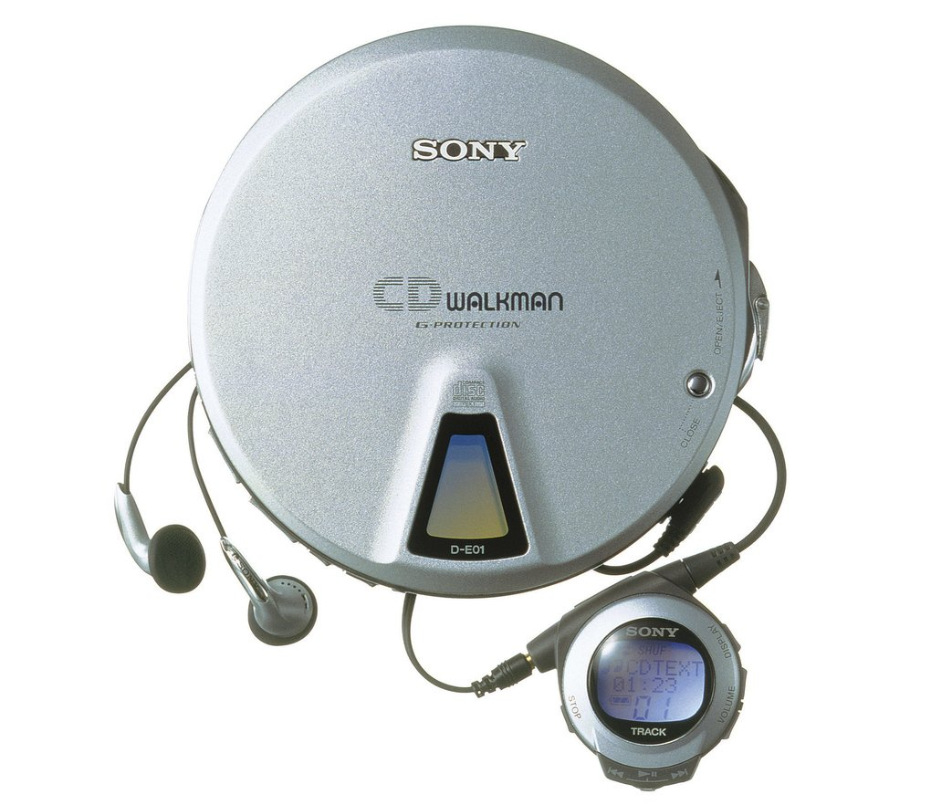 SONY CD WALKMAN D-E01