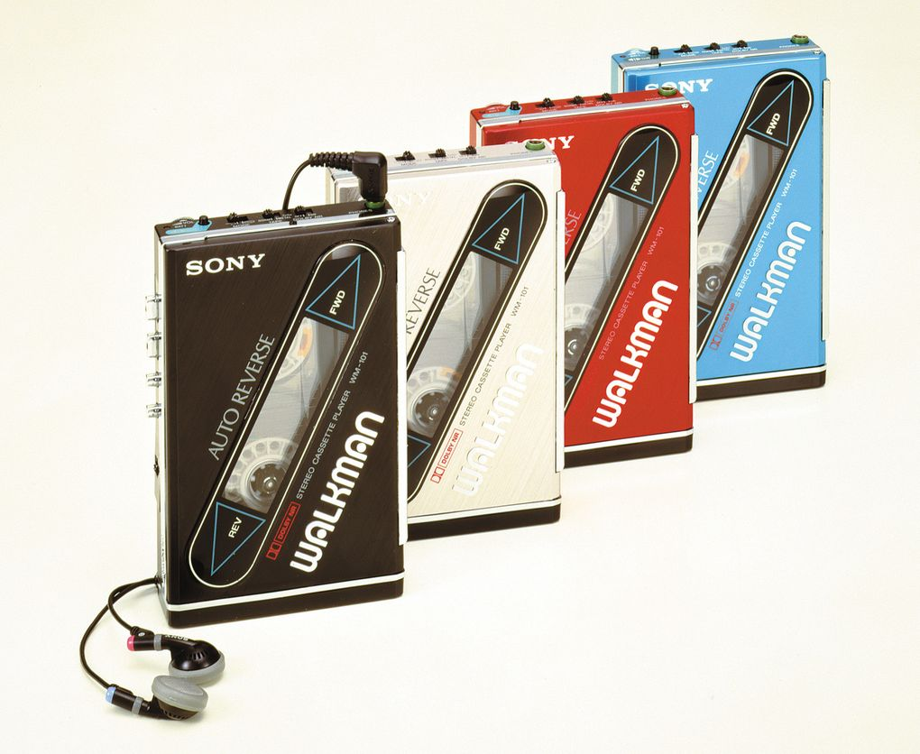 SONY WALKMAN WM-101