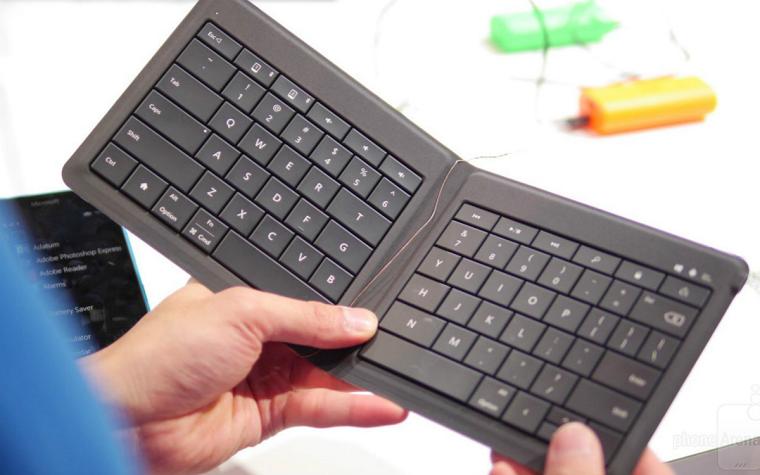 Складывающаяся клавиатура