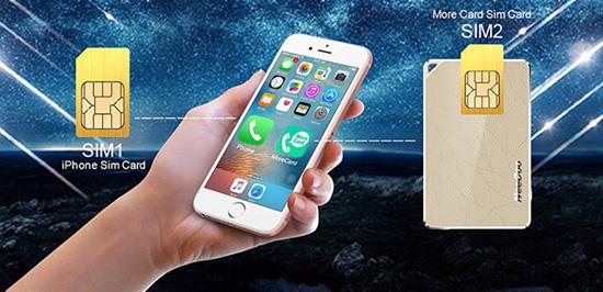 Устройство NeeCoo сделает из вашего iPhone полноценный двухсимник - главное фото