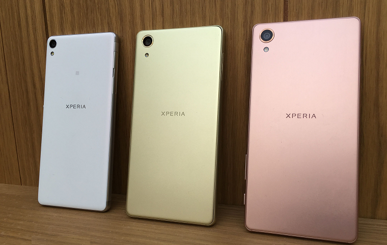 Xperia X Performance, Xperia XA и Xperia X