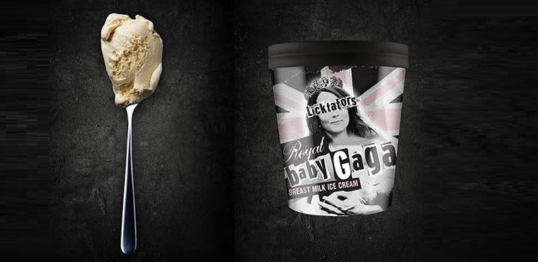 фото Baby Gaga-мороженое из грудного молока