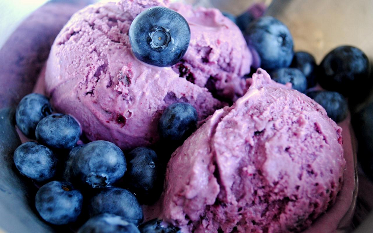 фото Черничное мороженое-десерт