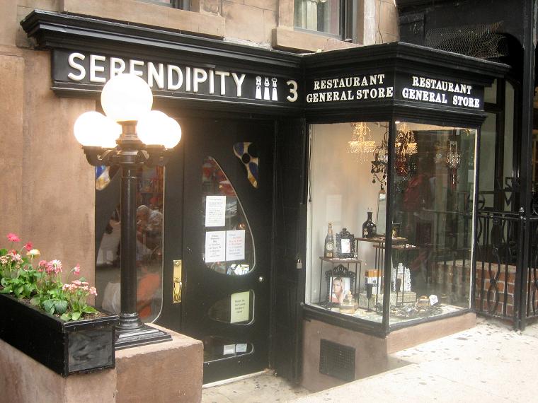фото Serendipity 3 на Манхеттене-ресторан дорогого мороженого