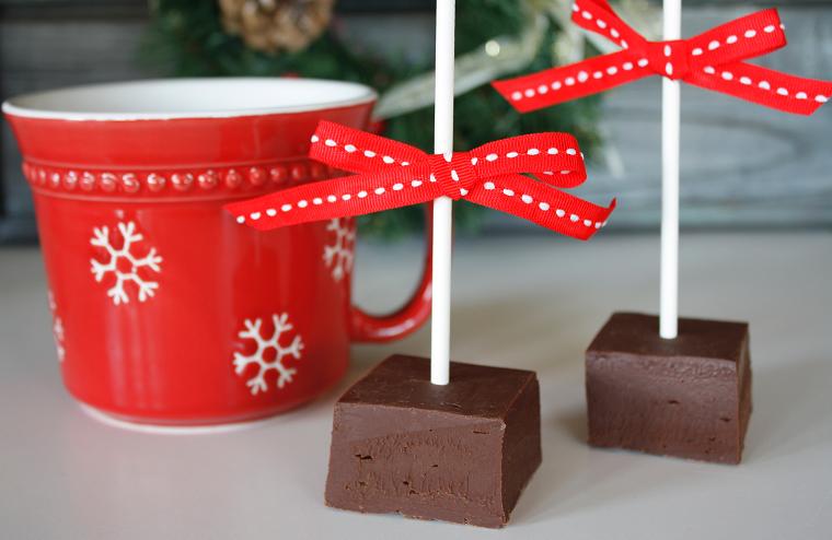 кубики шоколада