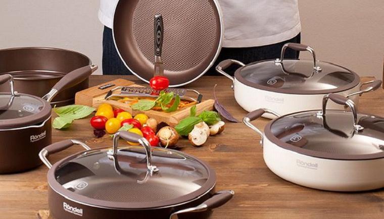набор посуды rondell
