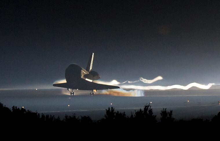 21.07.2011 — Шаттл «Atlantis» завершил свой последний полёт,