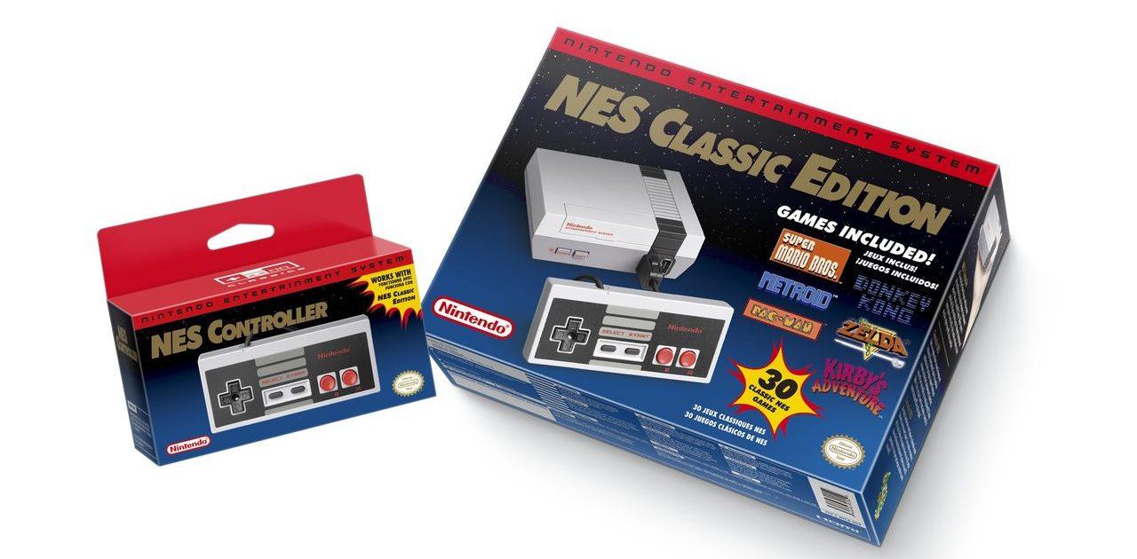 NES – новинка с историей в 33 года 11 ноября в продажу поступит новая игровая консоль от Nintendo. Ну, не то, чтобы новая, скорее – обновлённая. Она немножко меньше оригинала, возраст которого насчитывает уже 33 года. Никаких принципиально новых фич нет – кроме HDMI-разъёма, с помощью которого изображение и звук передаются на телевизор. В комплекте с консолью поставляется 30 классических игр: Balloon Fight Bubble Bobble Castlevania Castlevania II: Simon's Quest Donkey Kong Donkey Kong Jr. Double Dragon II: The Revenge Dr. Mario Excitebike Final Fantasy Galaga Ghosts N' Goblins Gradius Ice Climber Kid Icarus Kirby's Adventure Mario Bros. Mega Man 2 Metroid Ninja Gaiden Pac-Man Punch-Out!!! Featuring Mr. Dream StarTropics Super C Super Mario Bros. Super Mario Bros. 2 Super Mario Bros. 3 Tecmo Bowl The Legend of Zelda Zelda II: The Adventure of Link Добавлена также и функция сохранения – напомним всем юным геймерам, что «сейвиться» в те времена было невозможно. Консоль поставляется с одним геймпадом – второй придётся докупать отдельно.