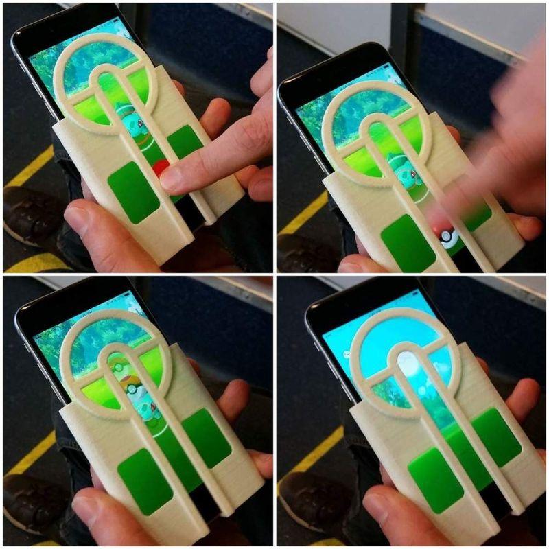 Чехол-прицел на iPhone поможет ловить покемонов в Pokemon Go - фото 1