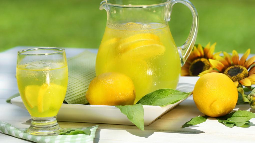 Домашний лимонад-фото