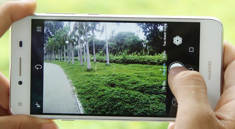 Huawei Y5 II камера