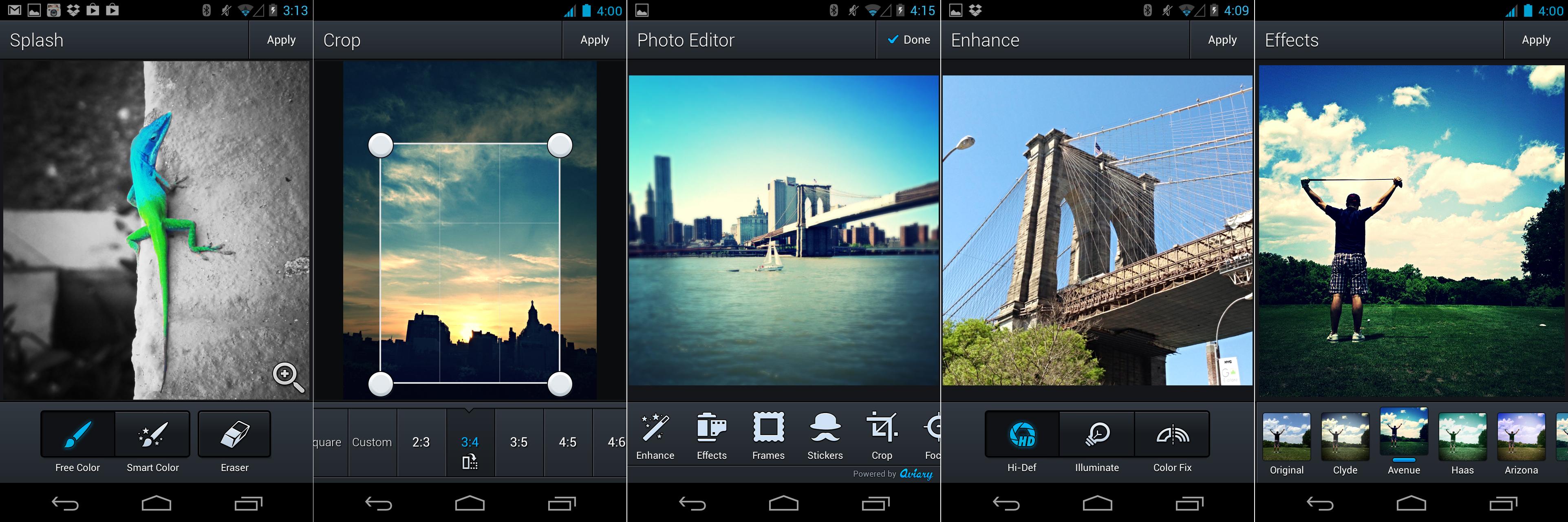 Как сделать качественные фотографии при помощи Android-смартфона - редактирование фотографий