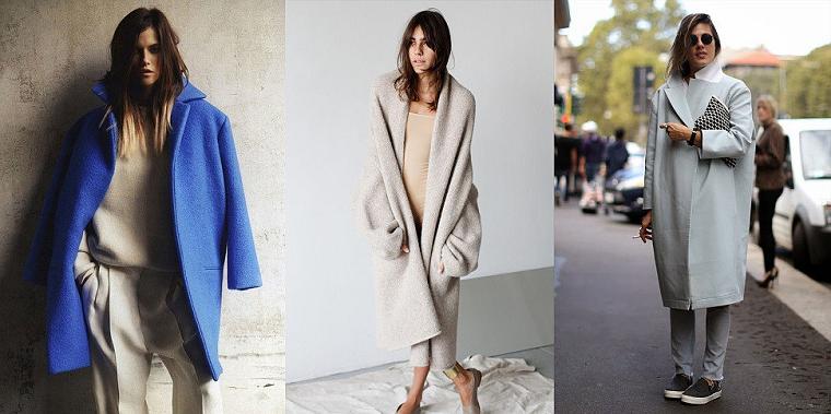 Картинка Модное пальто.