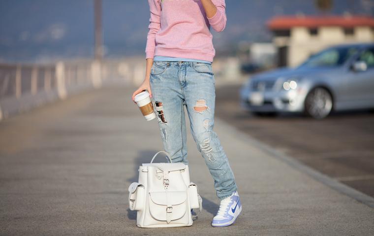 Картинка Модные джинсы.