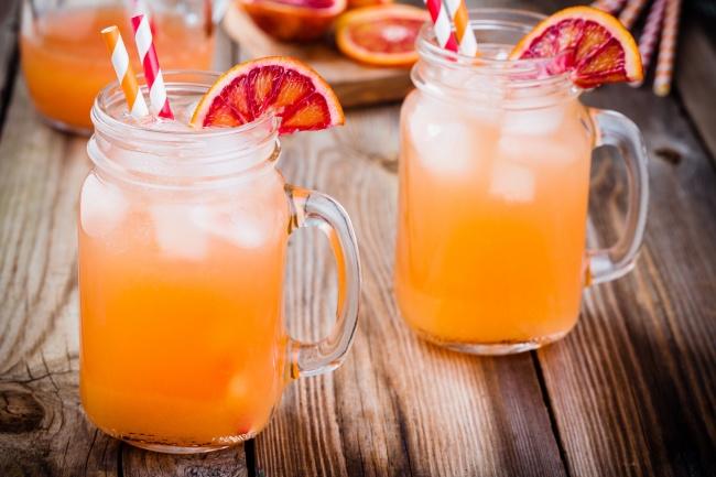 Морковный лимонад-фото рецепт