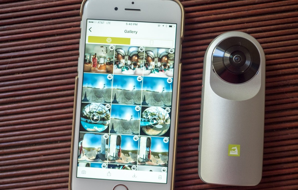Обзор современной функциональной камеры LG 360 CAM - галерея
