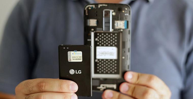 Папка «Фото», LG K10 LTE-4 Задняя крышка