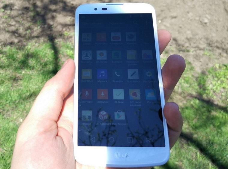 Папка «Фото», LG K10 LTE-Олеофобное покрытие