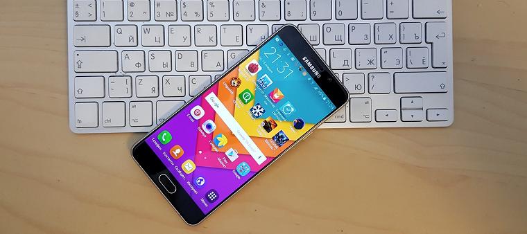 Папка «Фото», Самые интересные смартфоны от компании Samsung - Samsung Galaxy A7 2016