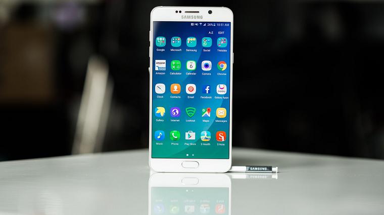 Папка «Фото», Самые интересные смартфоны от компании Samsung - Samsung Galaxy Note 5