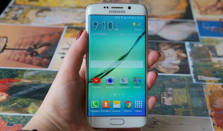 Папка «Фото», Самые интересные смартфоны от компании Samsung - Samsung Galaxy S6 Edge (2)