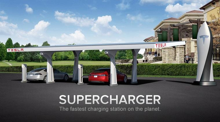 Папка «Фото», Tesla модернизирует свои заправки Supercharger - фото 1