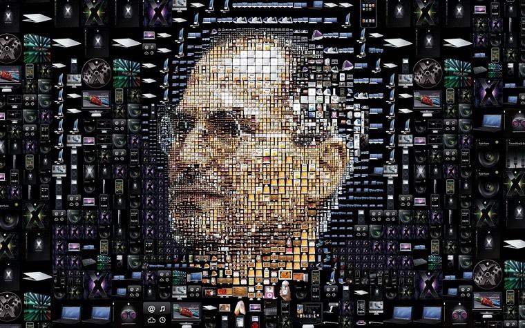Папка «Фотографии», фото Стив Джобс-электронный портрет