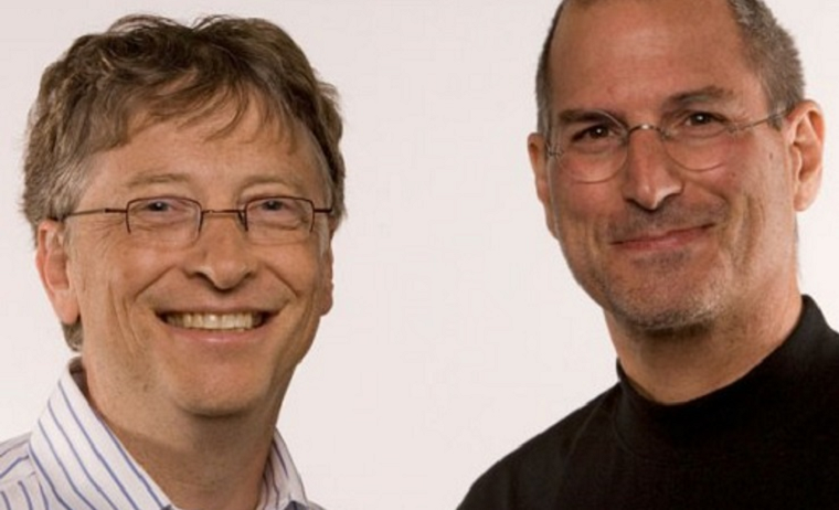 Папка «Фотографии», фото Стив Джобс и Билл Гейтс-фото