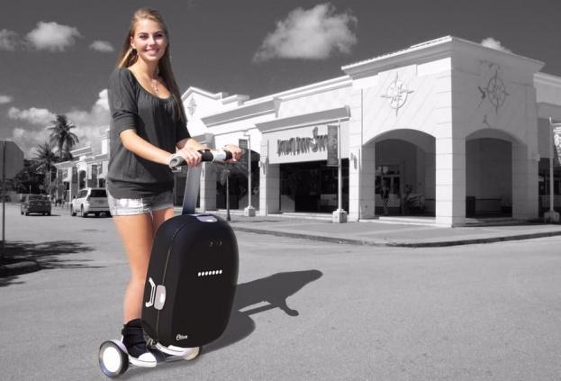 Робочемодан Olive может носить не только багаж, но и своего владельца - главное фото