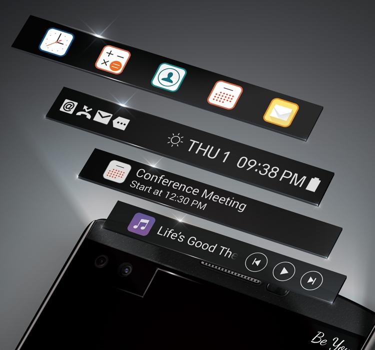 Самые интересные смартфоны от компании LG - два экрана LG V10