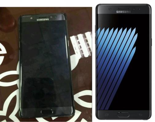 В сеть попало первое живое фото Samsung Galaxy Note 7 - фото 1