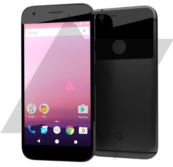 В сети появился рендер HTC Nexus 2016 (Marlin и Sailfish) - фото1