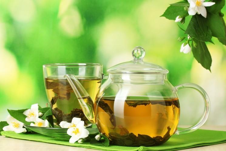 Зеленый чай-вариант подачи