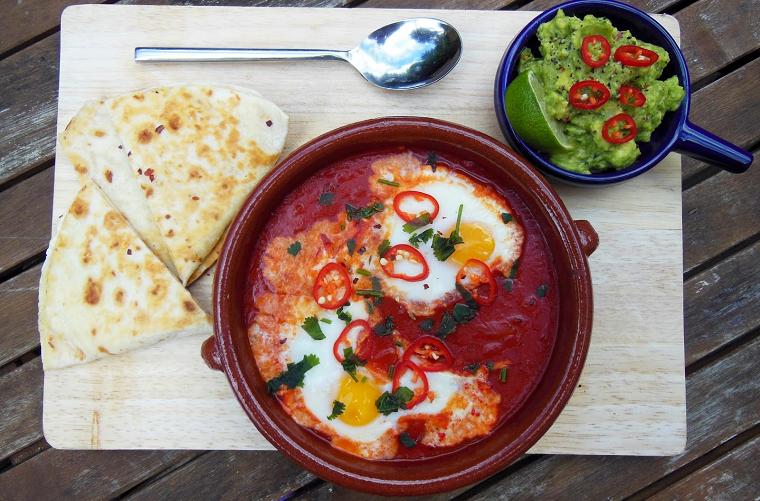 готовить Яйца Вальехо.