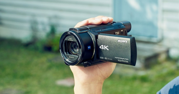 любительские видеокамеры
