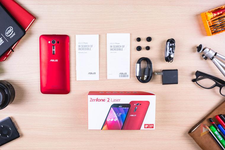 ASUS Zenfone 2 Laser ZE601KL-расцветки и ракурсы