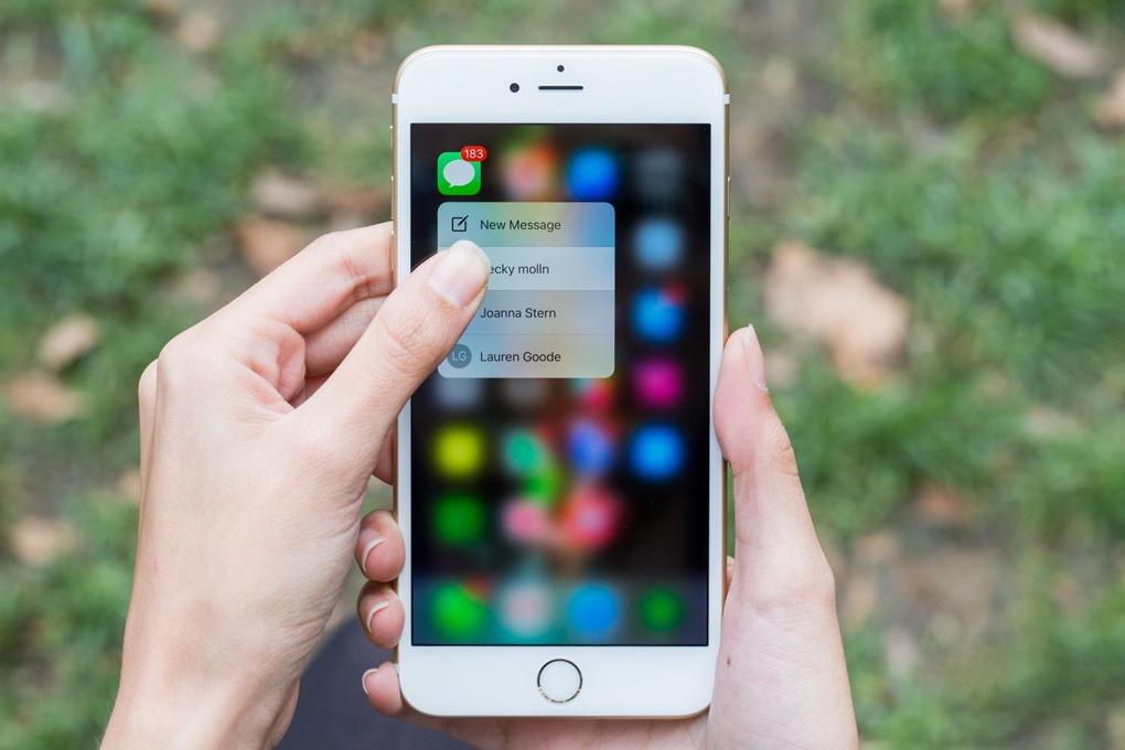 Apple iPhone 6S Plus-технология 3D Touch