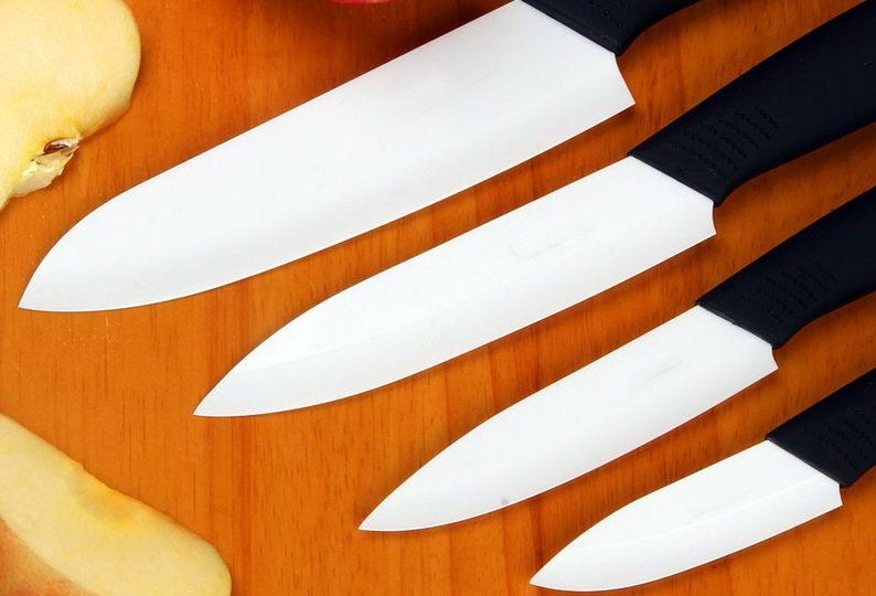 Белый керамический нож-Для быта
