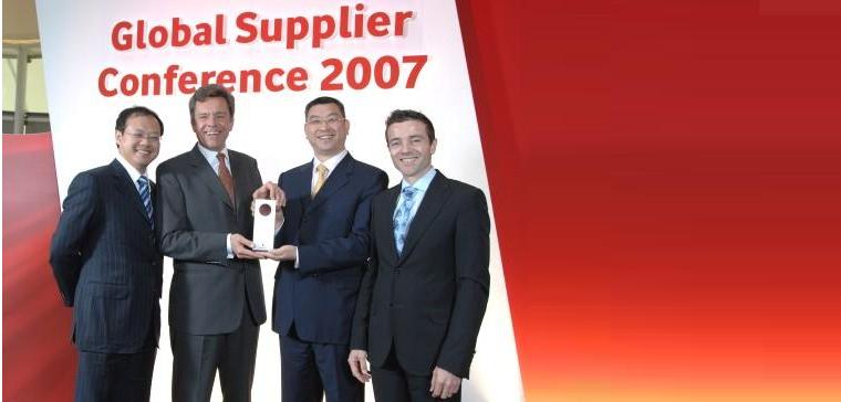 Global Supplier Award» компанії Huawei.