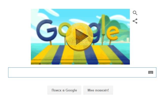 Google запустил игру с фруктами в честь Олимпиады в Рио - главное фото