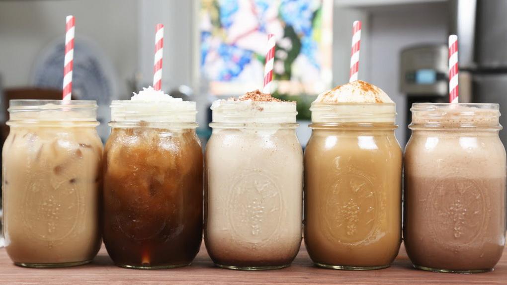 Холодный кофе-большие порции
